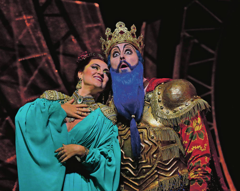The Queen of Schemakha, Santa Fe Opera