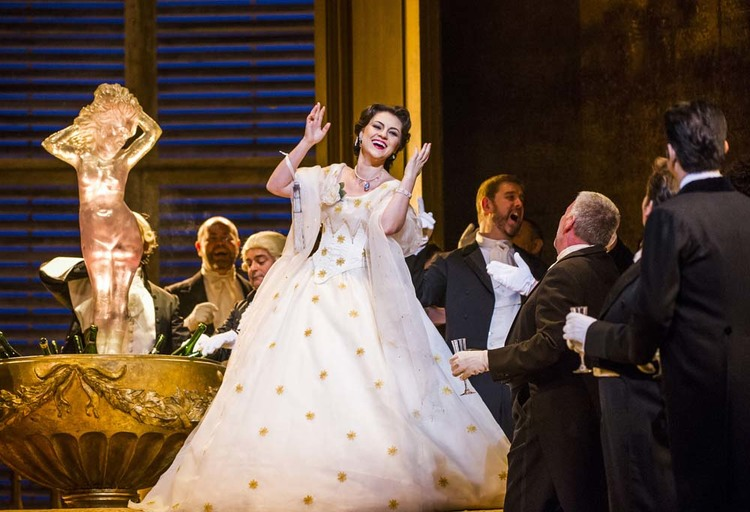 La traviata, Royal Opera House
